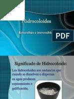 Hidrocoloides (ERIKA)