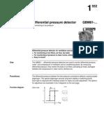 Differential Pressure Detectors