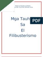 Mga Tauhan Sa El Filibusterismo