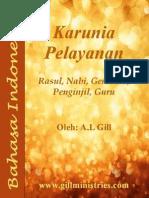 Indonesia - Karunia-karunia Pelayanan