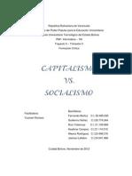 Capitalismo vs. Socialismo