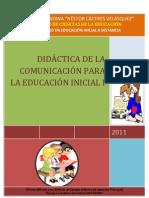 Didactica de La Comunicacion Para La Educacion Inicial i