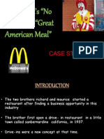 McDonald's – No Longer the