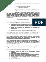 Reglamento de Registro de Calificaciones