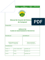 Manual de Usuario PM-046 Planes Mantto Preventivo