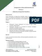 Convocatoria I Diplomado en Energía Solar Fotovoltaica (1)