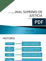 Tribunal Supremo de Justicia