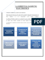 POLÍTICA AMBIENTAL SAMSUNG ELECTRONICS