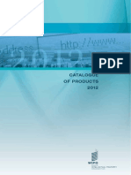 Wipo Pub Catalog 2012