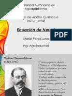 Ecuaci+¦n de Nernst II