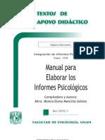Manual Para Elaborar Los Informes Psicologicos