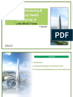 Vertical Shortening and Health Monitoring of Lotte World TowerCase Study