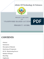 Password Based Door Access System