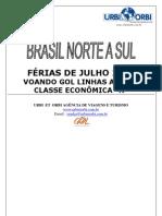 TARIFÁRIO REGULAR NACIONAL JULHO 2009