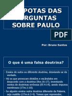 Perguntas Sobre Paulo