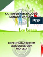Sistem Ekologi-Kaitan Sistem Ekologi Dengan Manusia
