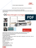 CNC Glass Straight-Line Edging Machine