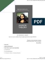 Humor Theory by Igor Krichtafovich