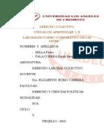 CUADRO COMPARATIVO ENTRE LAS LEYES ACTUALES LABORALES Y EL PROYECTO LEY DEL SERVICIO CIVIL.docx