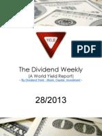 Dividend Weekly 28_2013