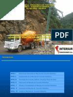 Tecnologia de Concreto Experiencia en El Corredor Vial Interoceanico Sur Tramo4