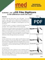 Laser vs CCD