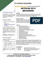 AutoCAD2012 Beg