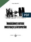 Carte- Imbracaminti Rutiere, Investigatii Si Interpretari