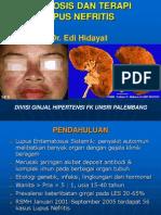 Tatalaksana Lupus Nefritis, Dr. Edi Hidayat