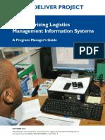 Study on Computerizing Logistics Management
