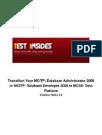 70-459 Transition Your MCITP