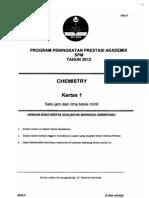 Spm Trial 2012 Chemistry Qa Kedah
