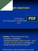 Kemoterapi, Dr Edi Hidayat