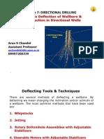 L7- Wellbore Deflection & BHA Selection