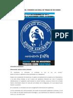 Documento Final Del Congreso Nacional de Termas de Rio Hondo
