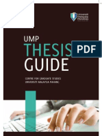 Thesis Guideline 2011-1
