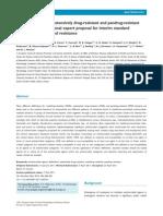 Multidrug-Resistant, Extensively Drug-resistant and Pandrug-resistant