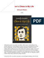 Edward Winter - Karpov's 'Chess is My Life'
