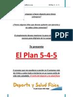 Plan 5-4-5