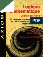 116855747 Logique Mathematique Tome II Rene Cori