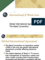 International E-Waste Law