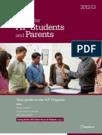 2012-13AP Bulletin Students Parents