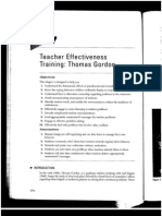 CH 7 Teacher Effectiveness Training