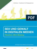 Sex Und Gewalt in Digitalen Medien