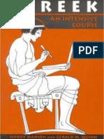 Greek - An Intensive Course - Hardy Hansen, Gerald M. Quinn