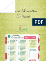 Planner Ramadhan E-Usrah