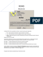 Manuale Echo