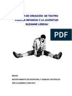 Proyecto Suzanne Lebeau