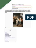 Ley Orgánica de Educación España