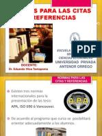 NORMAS PARA LAS CITAS Y REFERENCIAS.pptx